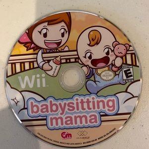 Wii Babysitting Mama